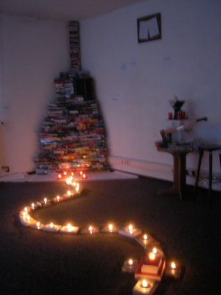 Flammenbücherwurm