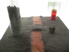 Amöneburg mit Lavafluss