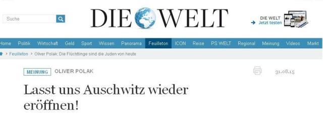 WELT-Auschwitz
