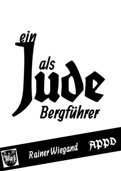 Ein Jude als Bergführer